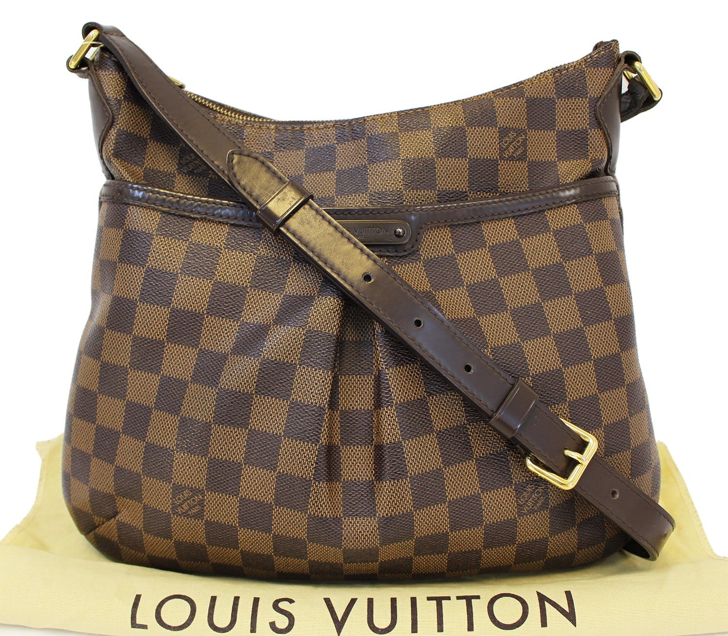 80e8763454 Authentic LOUIS VUITTON Bloomsbury PM Damier Ebene Shoulder Bag E3392