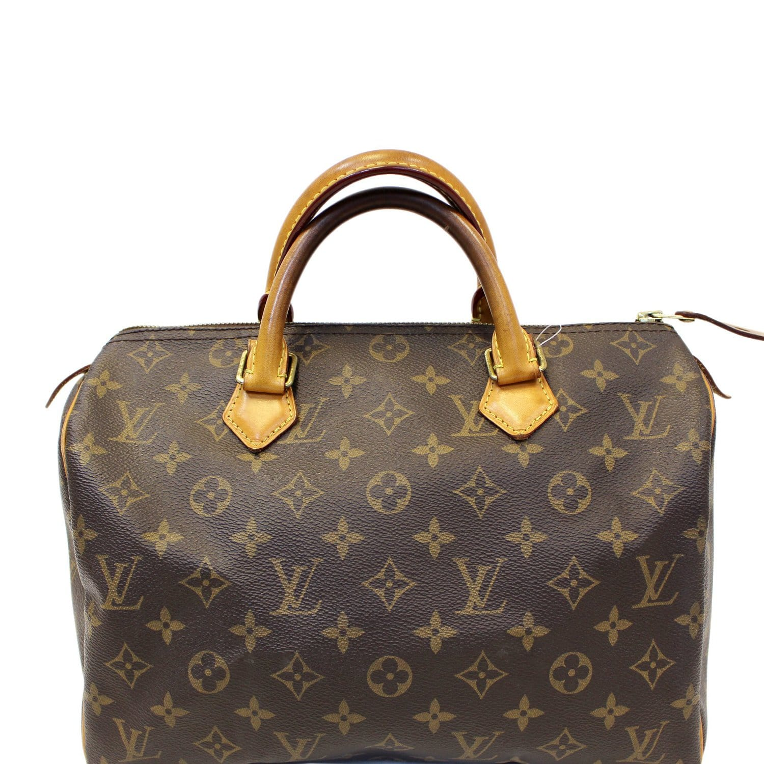 c59aca0fadcf LOUIS VUITTON Speedy 30 Monogram Canvas Satchel Bag