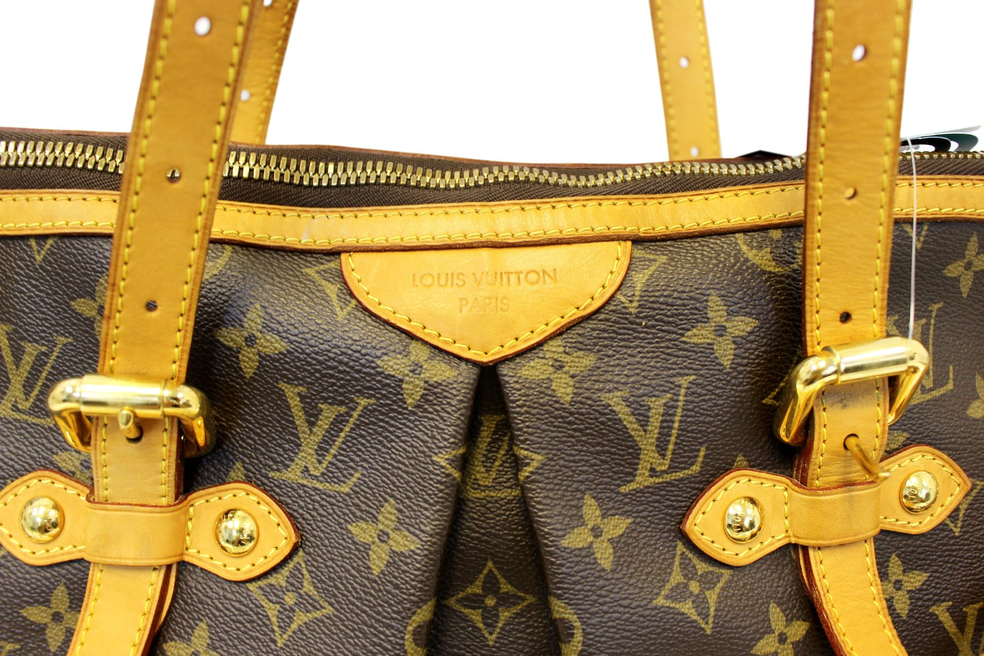 8d03c07b1f19 LOUIS VUITTON Palermo GM Monogram Canvas Tote Shoulder Bag