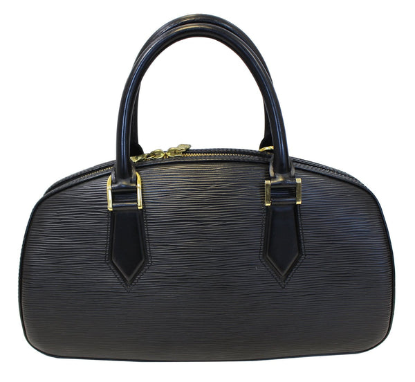 LOUIS VUITTON Black Epi Leather Pont-Neuf PM Satchel Bag - Sale