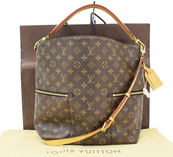 Authentic LOUIS VUITTON Monogram Melie Hobo Shoulder Bag E3411