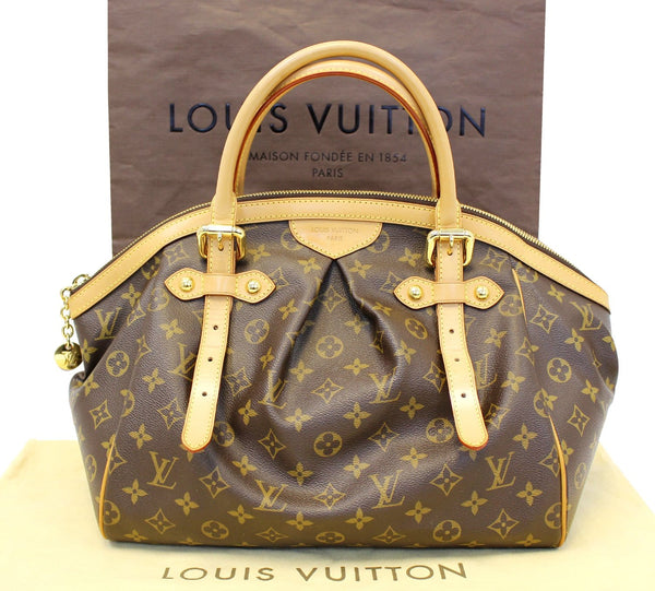 Louis Vuitton Monogram Tivoli GM Brown Tote Shoulder Bag