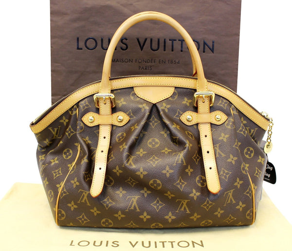 Louis Vuitton Tivoli GM Brown Tote Shoulder Bag