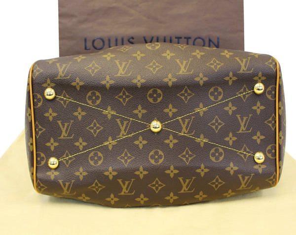 Louis Vuitton Tivoli GM Monogram Shoulder Bag - back view