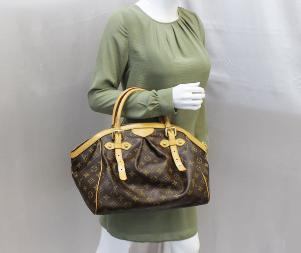 Louis Vuitton Monogram Tivoli GM Tote Shoulder Bag