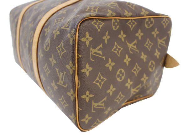LOUIS VUITTON Monogram Sac Souple 35 Boston Bag Vintage