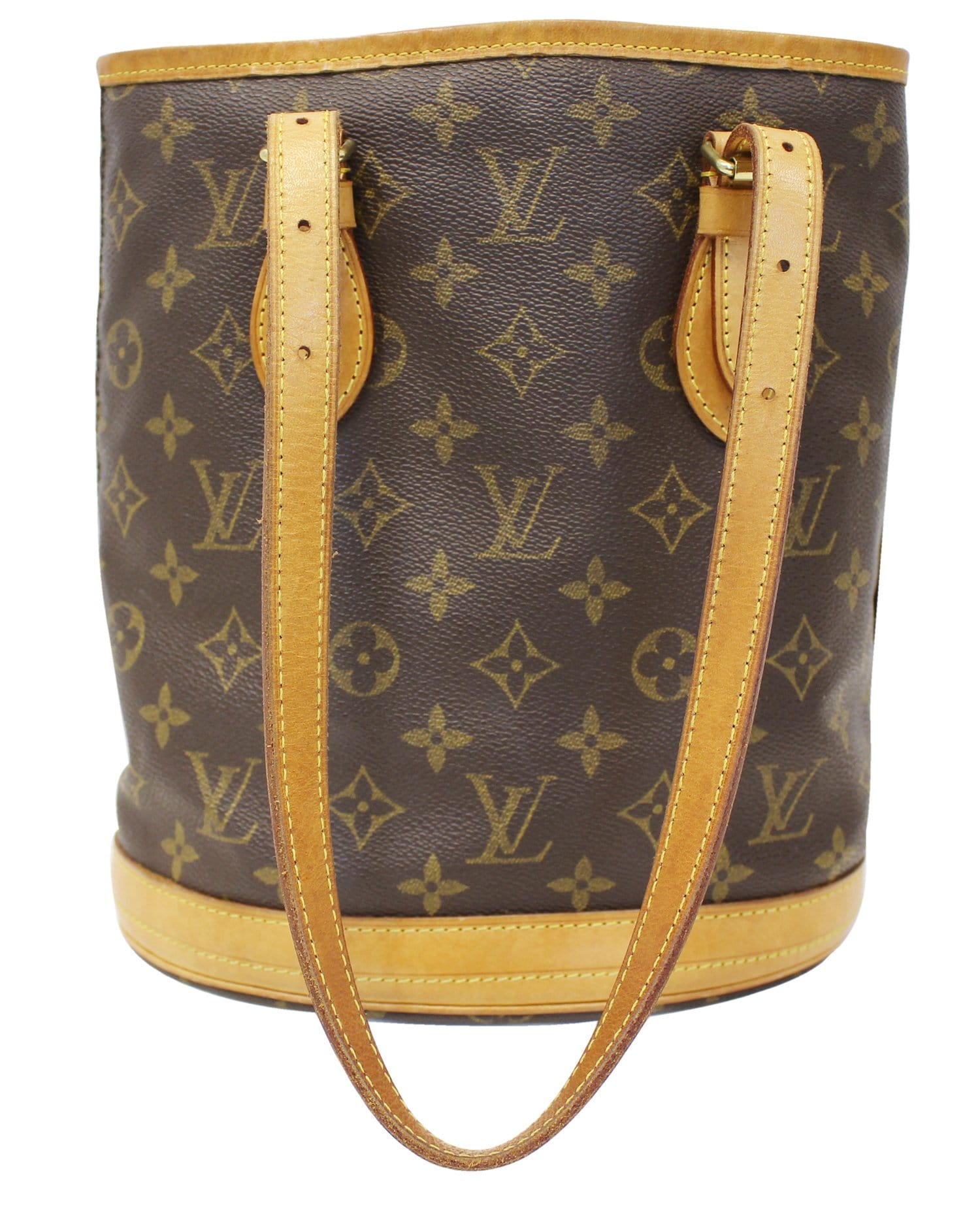 fef282cdd197 LOUIS VUITTON Bucket PM Monogram Canvas Shoulder Bag