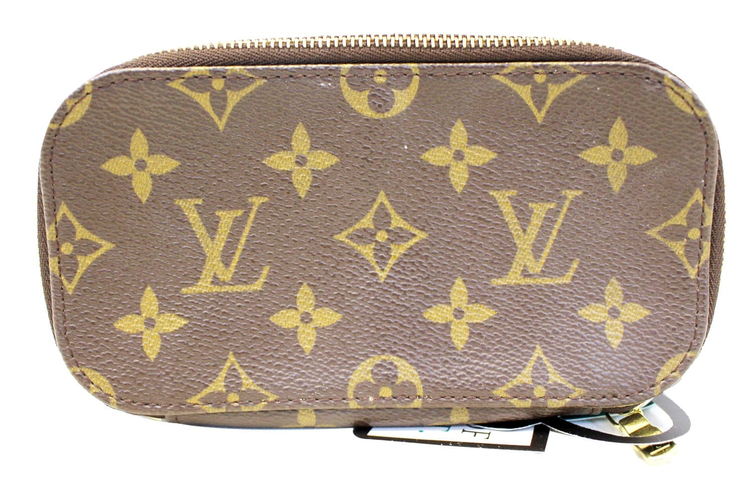 7a2a7f81abde LOUIS VUITTON Monogram Canvas Trousse Blush PM Cosmetic Case E4033