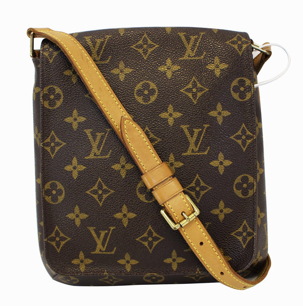 Authentic LOUIS VUITTON Monogram Musette Salsa Shoulder Bag E3431
