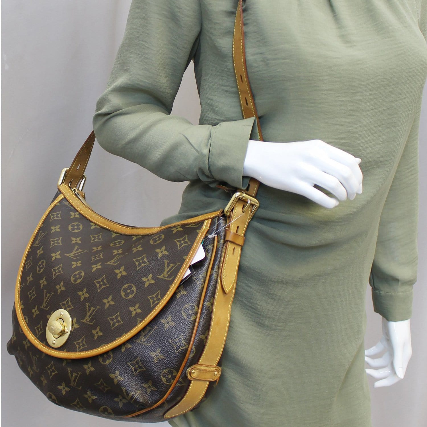 19c0d0a0a4fd LOUIS VUITTON Tulum GM Monogram Canvas Shoulder Bag
