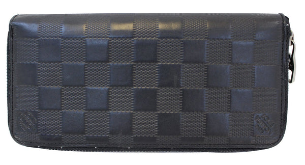 LOUIS VUITTON Vertical Damier Infini Leather Zippy Wallet - Sale