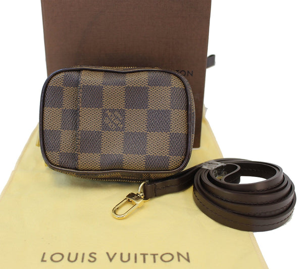 louis vuitton damier ebene etui okapi pm pouch bag 30 off. Black Bedroom Furniture Sets. Home Design Ideas