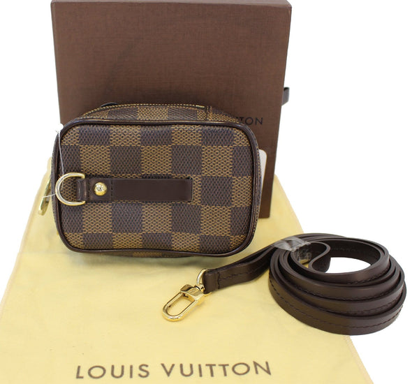 LOUIS VUITTON Damier Ebene Etui Okapi PM Pouch Bag - Final Call