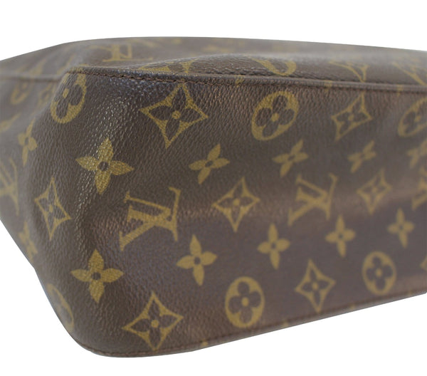 Authentic LOUIS VUITTON Monogram Canvas Looping GM Bag TT1601