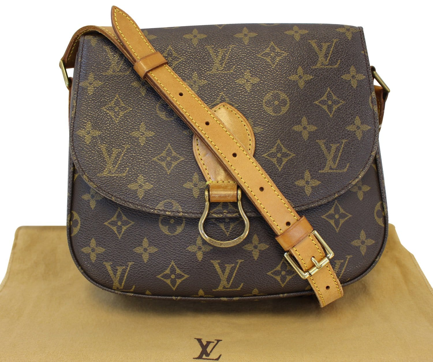 cf1f4356b44f LOUIS VUITTON Monogram Canvas Saint Cloud GM Crossbody