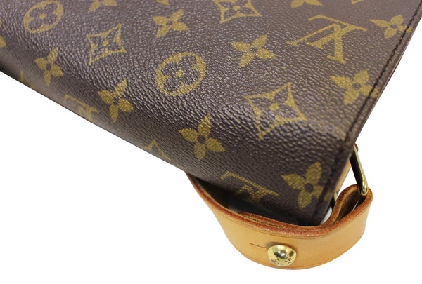 LOUIS VUITTON Monogram Brown Cartouchiere MM Messenger Bag