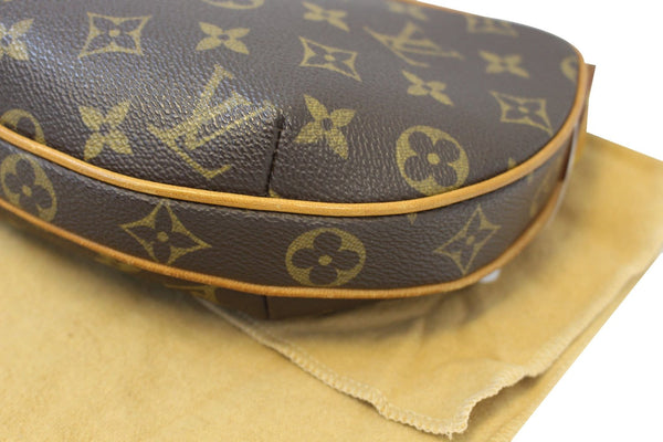 LOUIS VUITTON Monogram Canvas Croissant PM Bag - Final Call