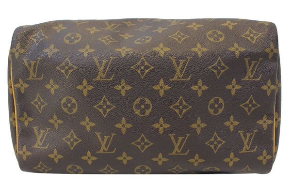 LOUIS VUITTON Monogram Canvas Speedy 30 Satchel Bag