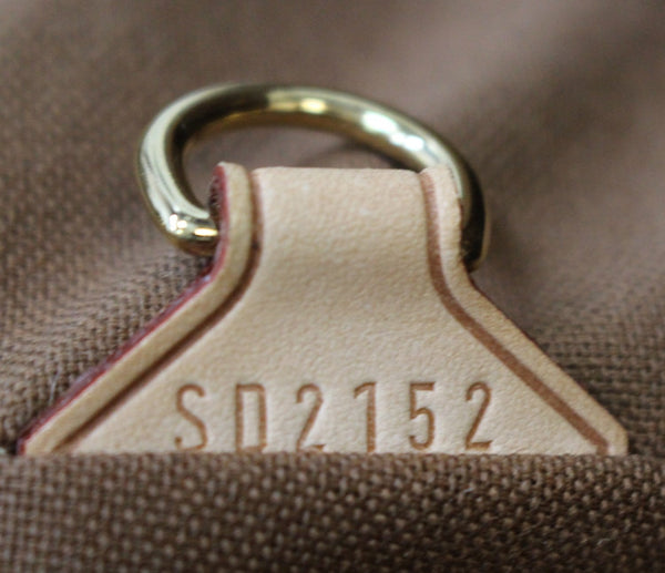 SD2152 Lv Tivoli GM Monogram Canvas Shoulder Bag