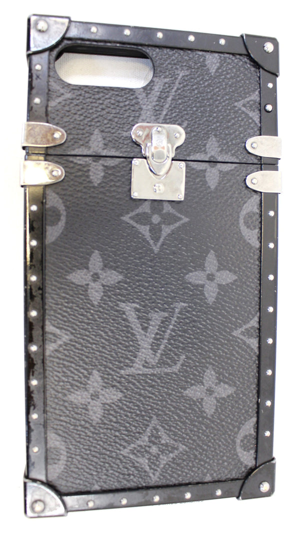 LOUIS VUITTON Eye-Trunk Monogram Eclipse IPhone 7 Plus Case