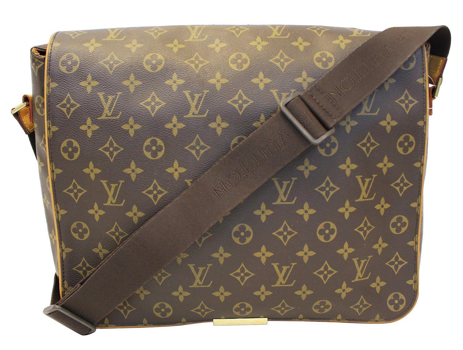 30deeba721b8 LOUIS VUITTON Monogram Canvas Abbesses Messenger Bag