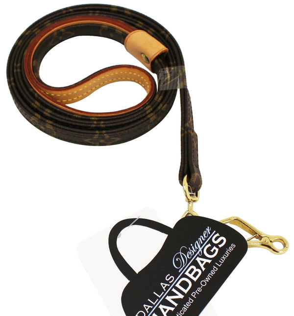 LOUIS VUITTON Monogram Dog Leash Baxter MM