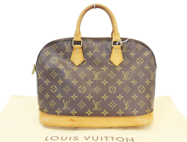 LOUIS VUITTON Monogram Canvas Alma PM Satchel Bag