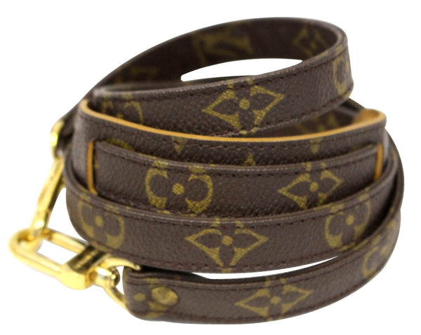 Authentic LOUIS VUITTON Monogram Brown Shoulder Strap For Metis and Similar