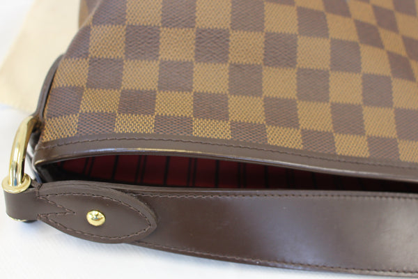 LOUIS VUITTON Damier Ebene Delightful MM NM Bag