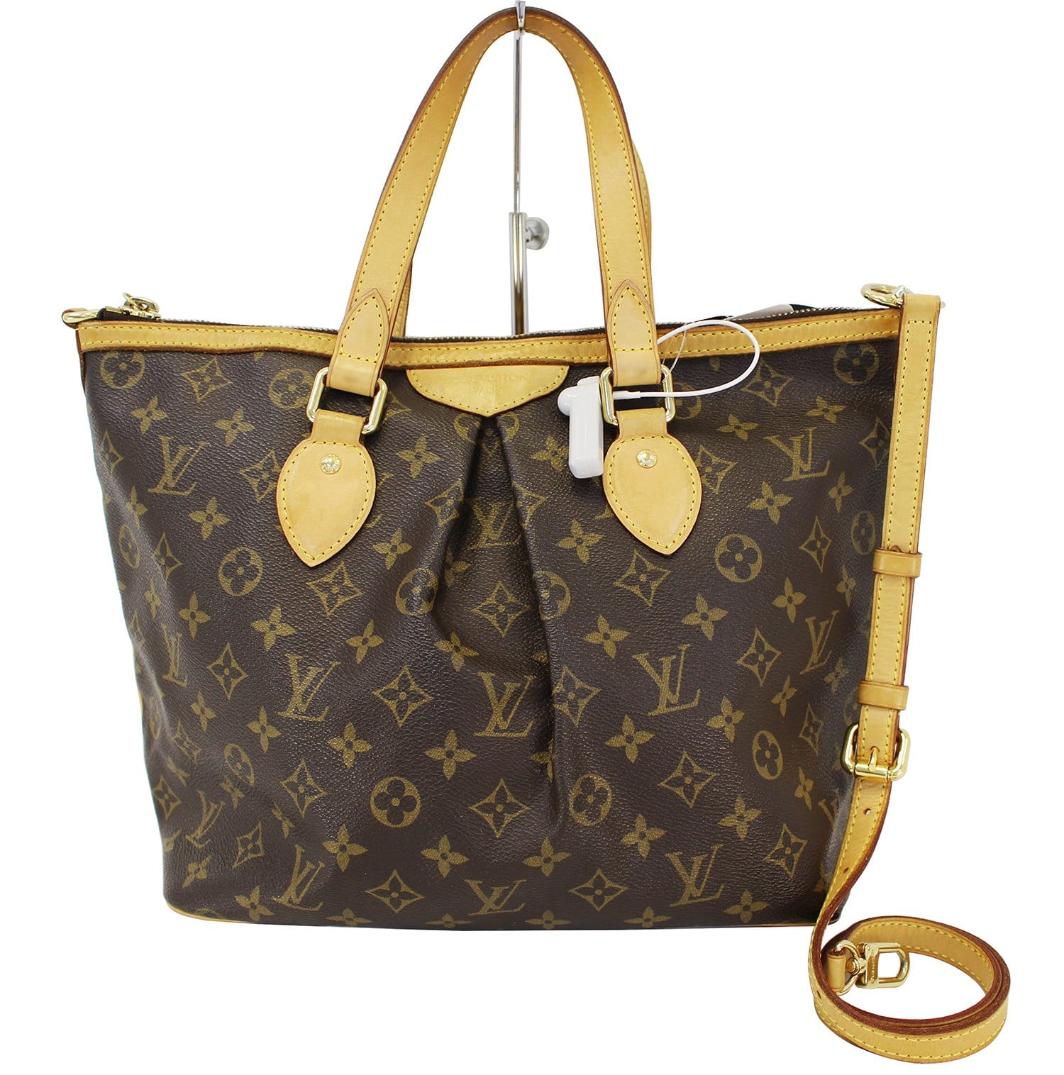 LOUIS VUITTON Monogram Palermo PM Tote Shoulder Bag fe99d59377b44