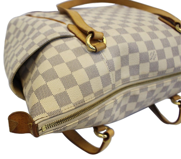 Louis Vuitton Totally MM Damier Azur Shoulder Handbag - croner