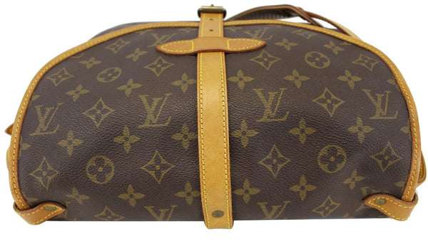 Authentic LOUIS VUITTON Monogram Canvas Saumur 30 Crossbody Bag TT1615