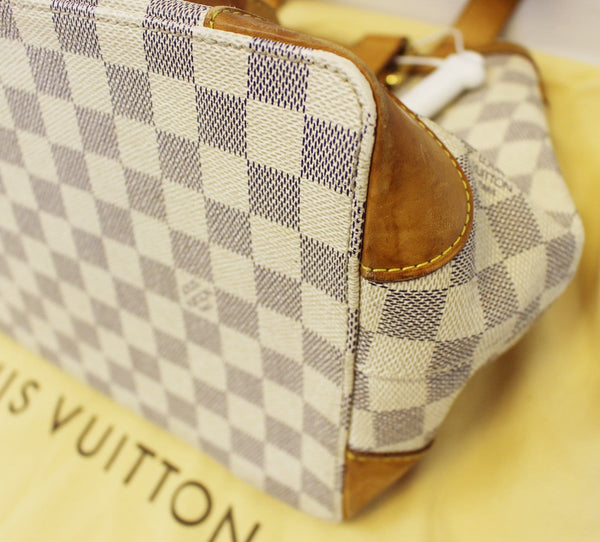 LOUIS VUITTON Damier Azur Hampstead PM Shoulder Bag