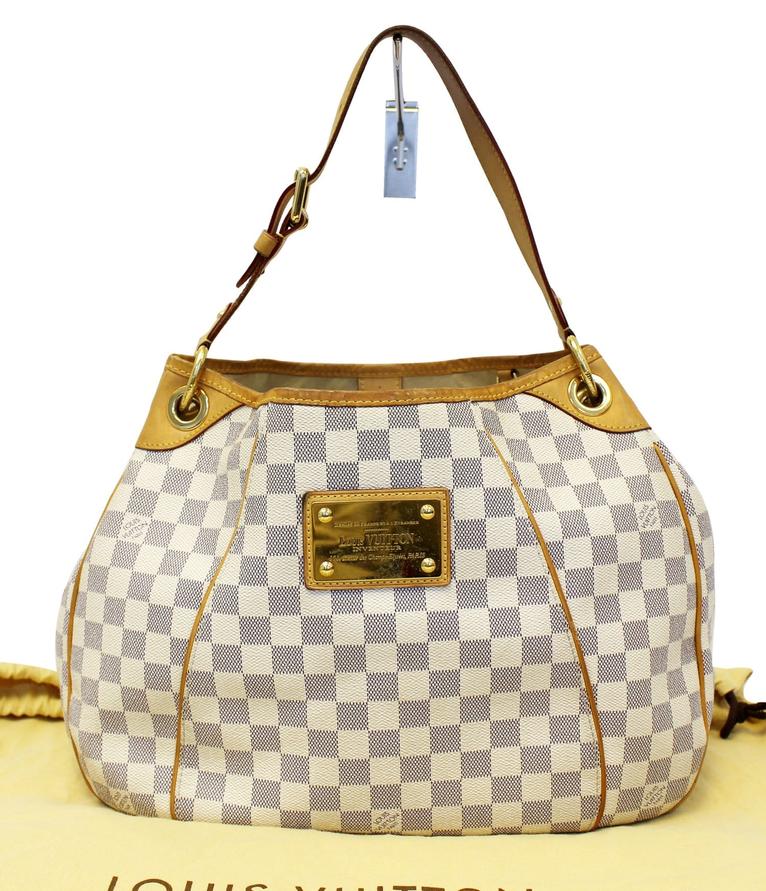 827120b7f0fc6 LOUIS VUITTON Damier Azur Galliera PM Shoulder Bag - 30% Off ...