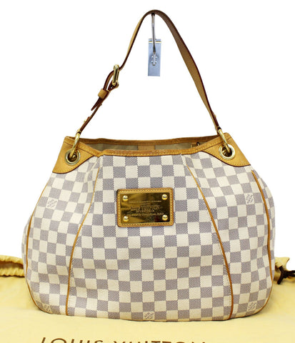 LOUIS VUITTON Damier Azur Galliera PM Shoulder Bag - 30% Off