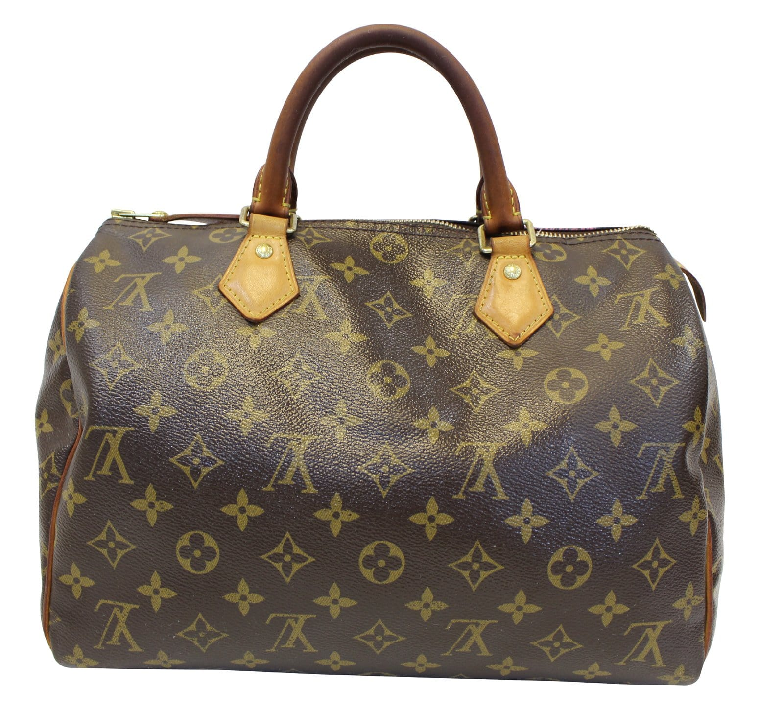 4ffeadf7e41a LOUIS VUITTON Speedy 30 Monogram Grenade Monogram V Satchel Bag