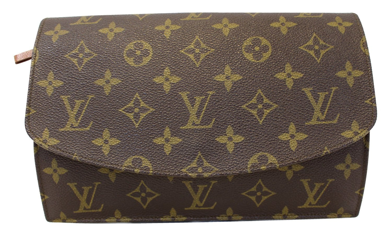 052d6de89eb2 Authentic LOUIS VUITTON Monogram Canvas Pochette Rabat Clutch E3519