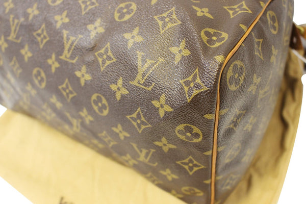 Authentic LOUIS VUITTON Monogram Canvas Speedy 35 Satchel Bag TT1659
