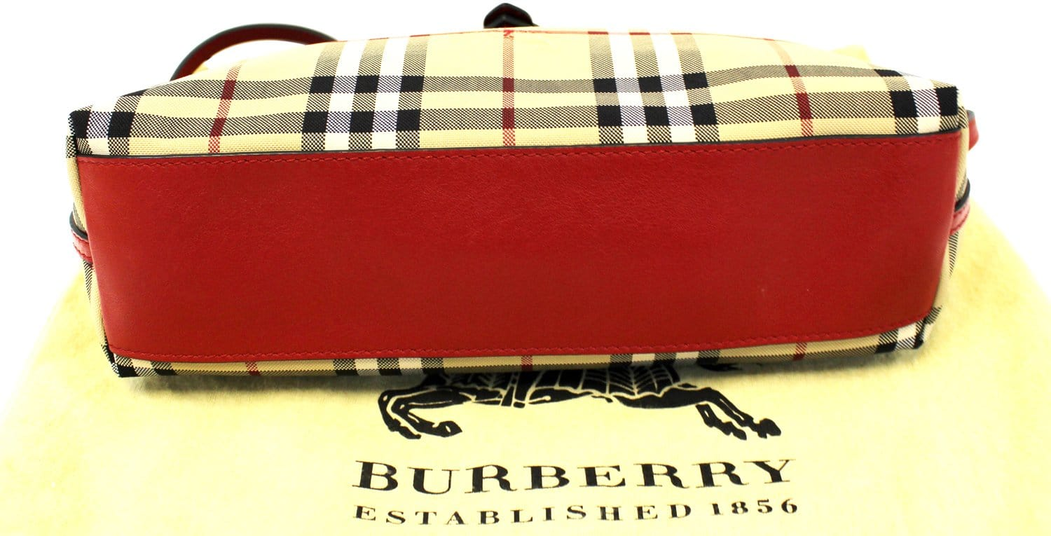 BURBERRY Small Horseferry check crossbody Bag