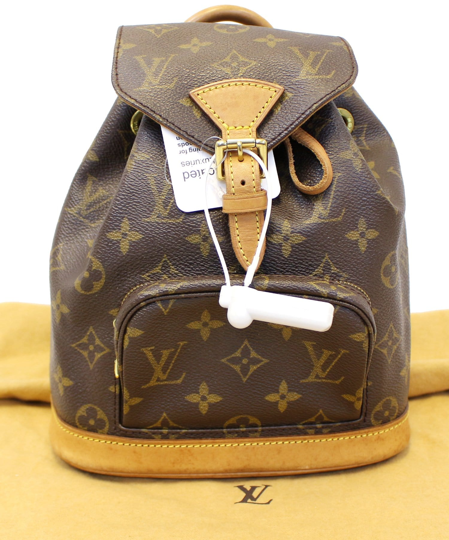a2394ae571b5 LOUIS VUITTON Backpack Bag Monogram Montsouris PM autumn shoes 6fb9c 7f77b  ...