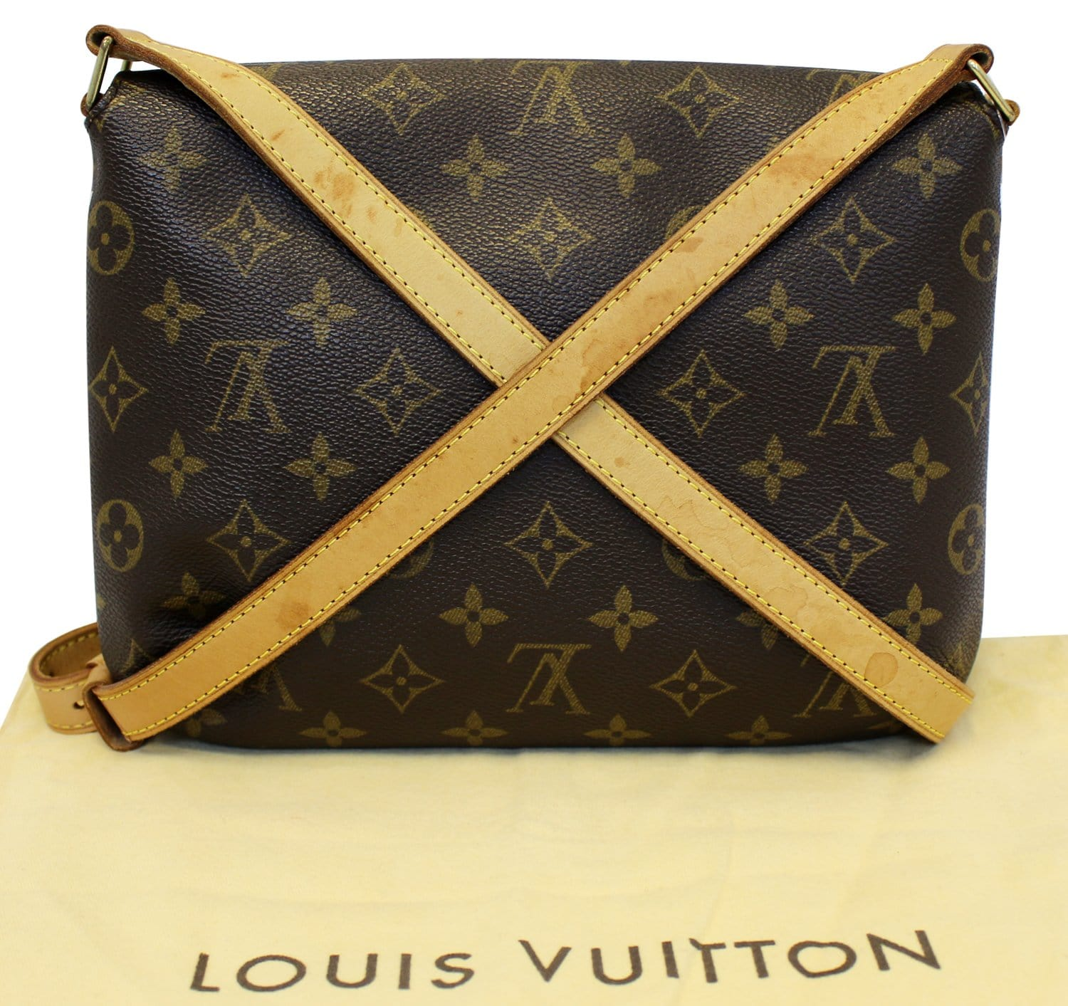 de2fdd524dba LOUIS VUITTON Monogram Canvas Musette Tango Crossbody Bag