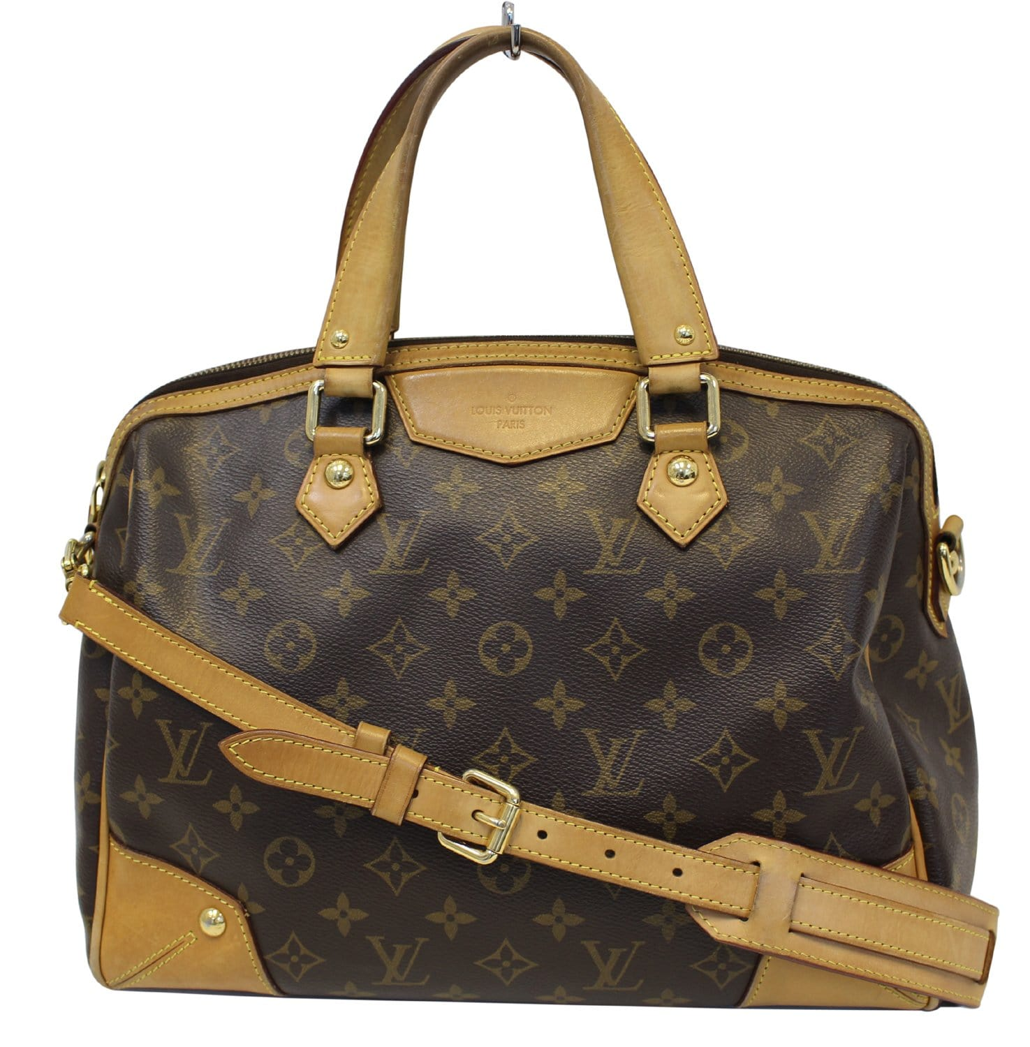 2fc82937c346 LOUIS VUITTON Monogram Canvas Retiro PM Brown Shoulder Bag