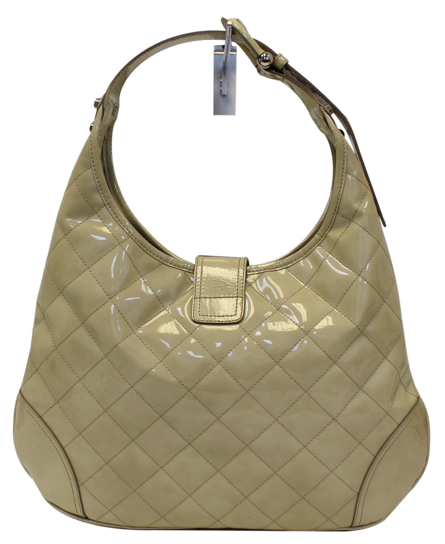 eef0c72e7fe5 BURBERRY Quilted Patent Leather Brooke Hobo Handbag - 20% OFF