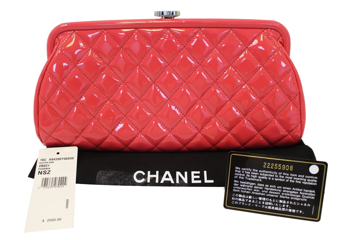 6f162973ed32 CHANEL Pink Quilted Leather Timeless Clutch Bag - Final Call