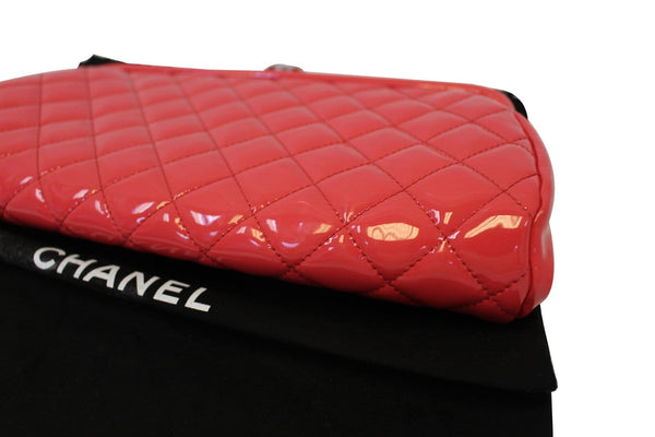 CHANEL Pink Quilted Leather Timeless Clutch Bag - Final Call