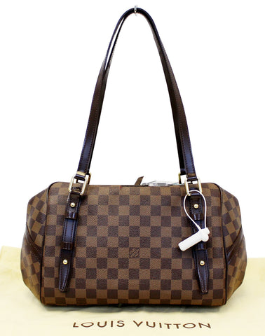 LOUIS VUITTON Damier Ebene Rivington PM Shoulder Bag - 30% Off
