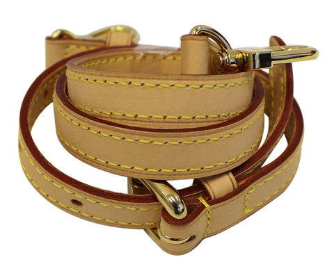 LOUIS VUITTON Leather Shoulder Strap for LV Bags - 30% Off