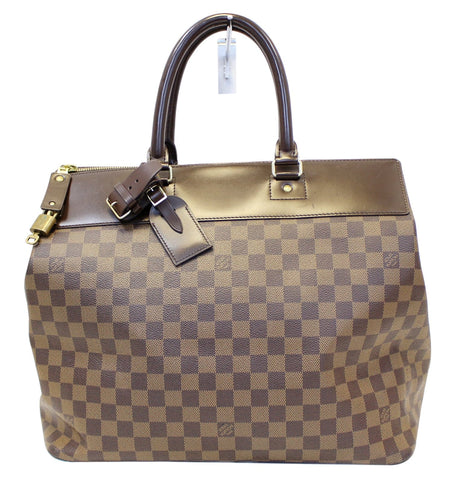 LOUIS VUITTON Damier Ebene Greenwich PM Travel Bag - 30% Off