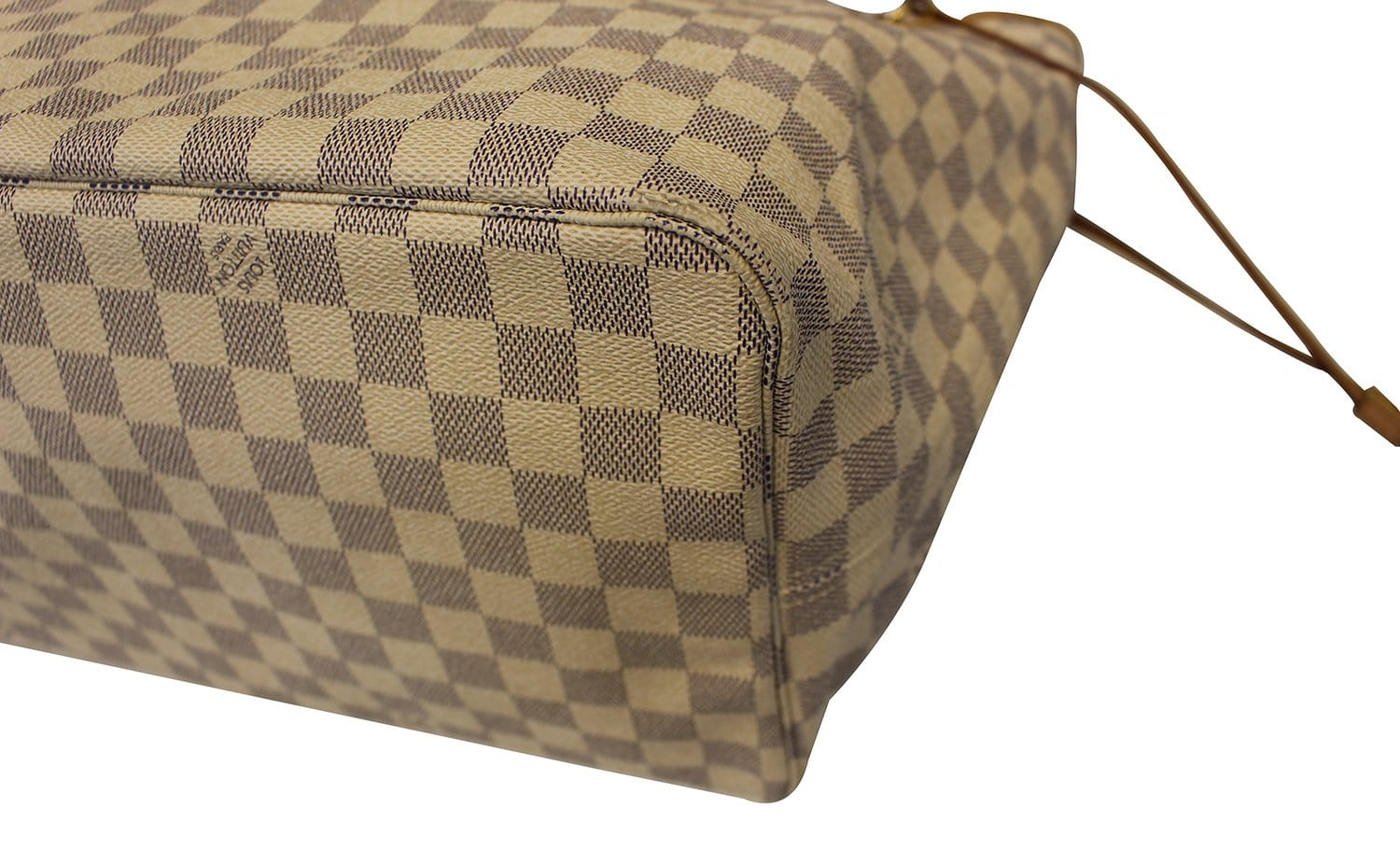 c7572d65cc79 LOUIS VUITTON Damier Azur Neverfull GM White Tote Bag