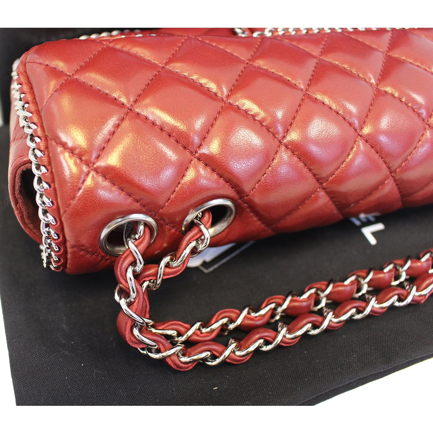 9359bd8b4529 CHANEL Classic Single Flap Chain Around Quilted Lambskin Shoulder Bag-US